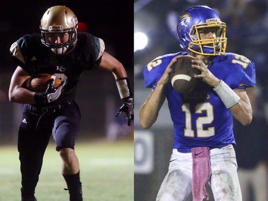 Friendship Christian's Justin Seagraves (left) and