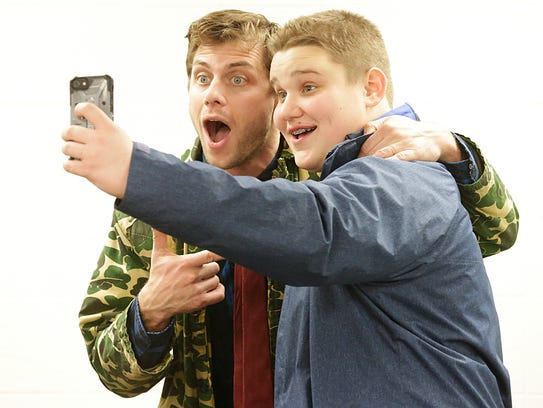 Comedian Charlie Berens, known as the Manitowoc Minute