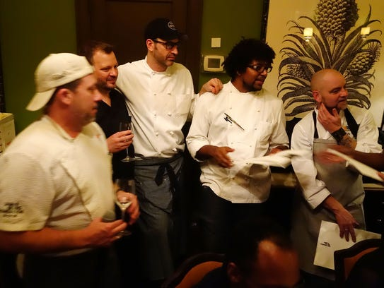 Follow arizona seven at nyc 39 s james beard house for Chef comes to your house