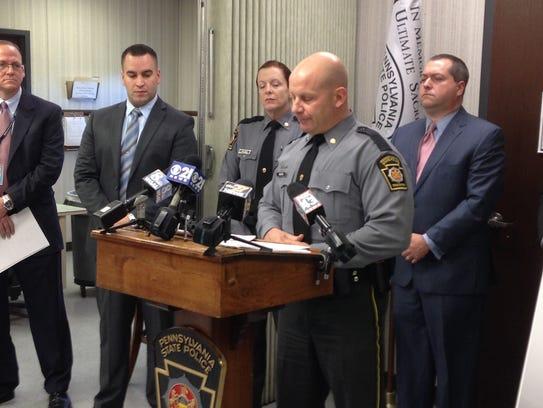 Pennsylvania State Police Capt. Adam Kosheba discusses