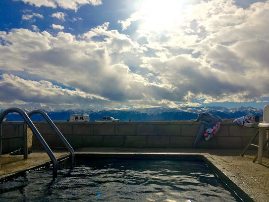 This remote nevada hot spring is worth the drive for Fish springs nevada
