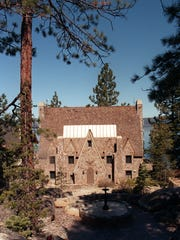 George Whittell built the Thunderbird Lodge from 1936 to 1939 on the east shore of Lake Tahoe.