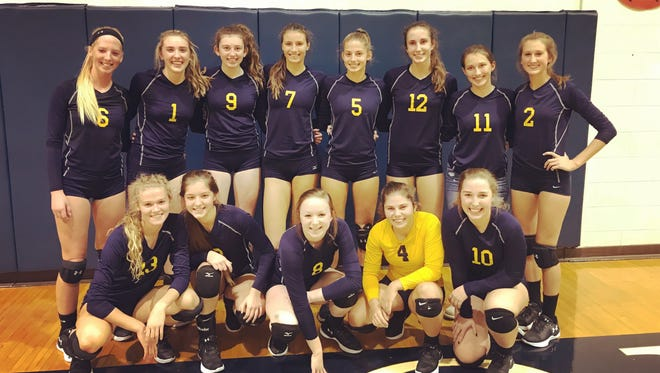 The Huskies claimed the outright Macomb Area Conference White Division championship.