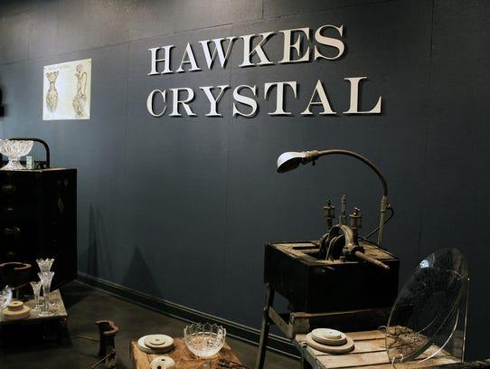 Hawkes Crystal in Tiffin, Ohio.