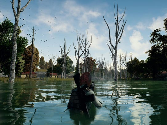 A scene from PlayerUnknown's Battlegrounds for Xbox