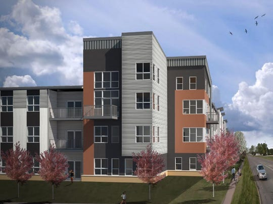 Hubbell Realty Co. is constructing a $26 million, 195-unit apartment complex in Johnston called Cadence.