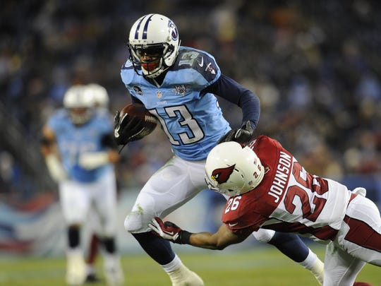 Titans wide receiver Kendall Wright