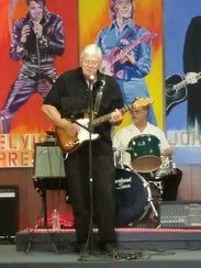 Rockabilly Hall of Famer Billy Weir was the first drummer