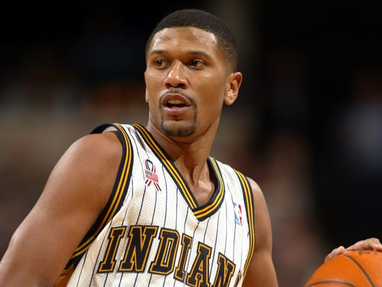 Jalen Rose played six seasons (1996-2002) for the Pacers,