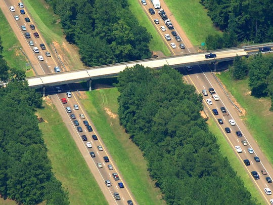 All lanes of I-55 open to northbound traffic near Brookhaven,