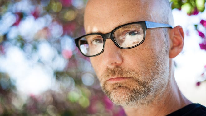 Richard Hall, better known as electronic singer/songwriter Moby.