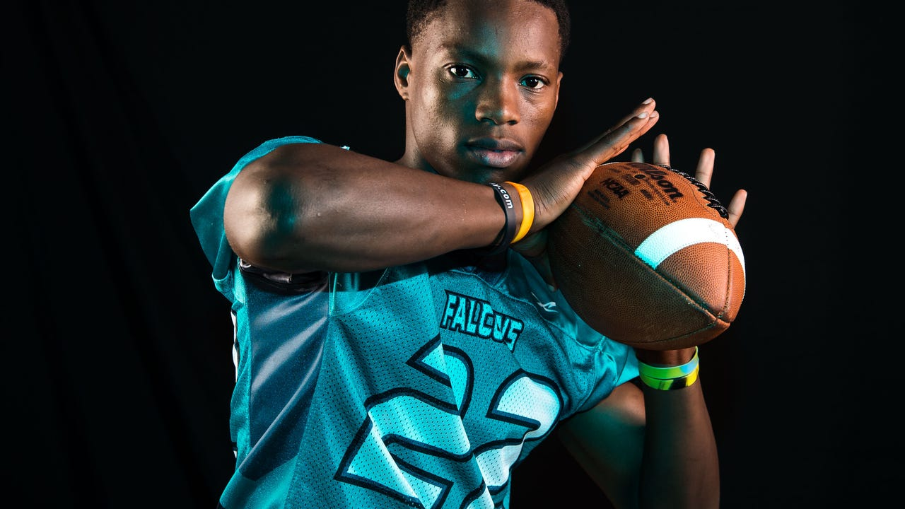 Jensen Beach DB Terrence Wilson had 32 tackles, 5 interceptions, 4 forced fumbles, 3 fumble recoveries and broke up 5 passes in 2017.