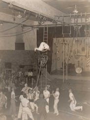 Billy Schultz Circus photo, circa 1940.