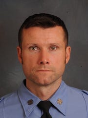 Firefighter Michael R. Davidson, who died fighting