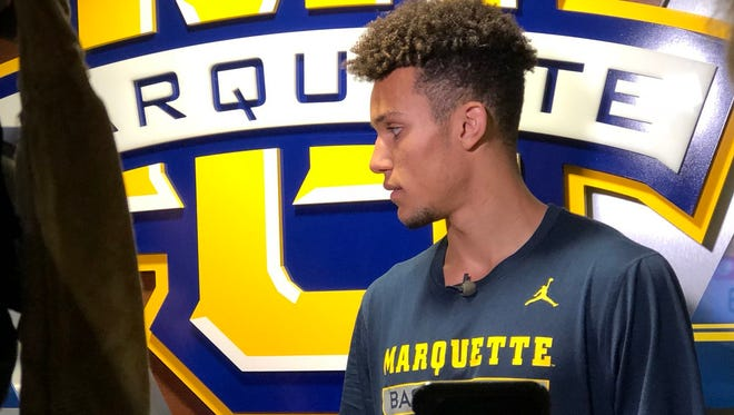 Brendan Bailey has arrived as a Marquette freshman after a two-year Mormon mission.