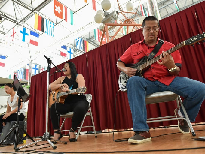 Blush and Friends performs at the Micronesia Mall in