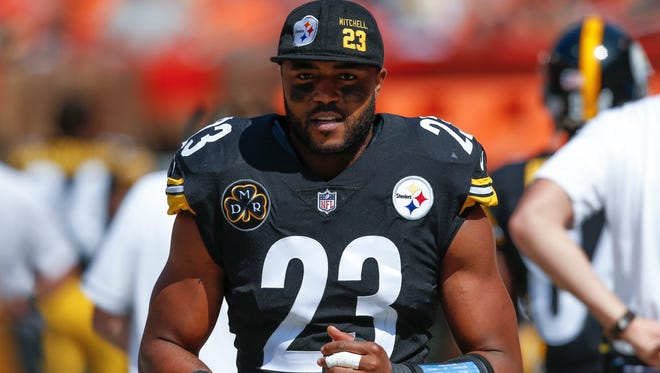 Pittsburgh Steelers free safety Mike Mitchell went into a rant to reporters about how the NFL handles big hits.