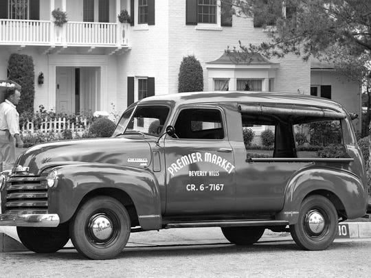 1949 Chevrolet Canopy Express.