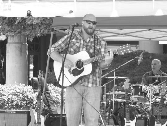 Singer-songwriter Jonathan Foster.