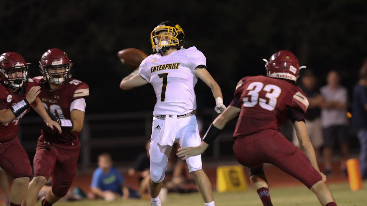 Highlights from Enterprise's 28-27 win over West Valley.