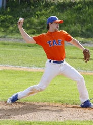 John Jones of Edison delivers a pitch Wednesday against