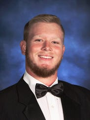Naples High School football player Andrew Wright