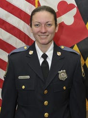 Baltimore County Police officer first class Amy Caprio,