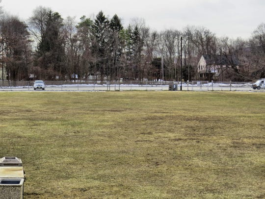 The parking lot at Highlands Preserve in West Milford