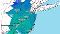 """As much as 12 to 18 inches for nearly all of Ocean County as well as southern Monmouth County as a """"bomb cyclone"""" passes by the Jersey Shore."""