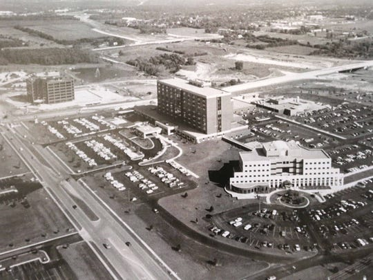 CoxHealth celebrated its 110th anniversary with a short ceremony and party. Historic photos were on display.