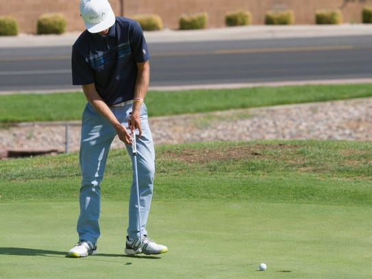 Region 9 golfers compete at Sunbrook Golf Club Thursday,