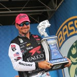 Bassmaster Elite: Jason Christie reels in over 88 pounds, $100,000 prize