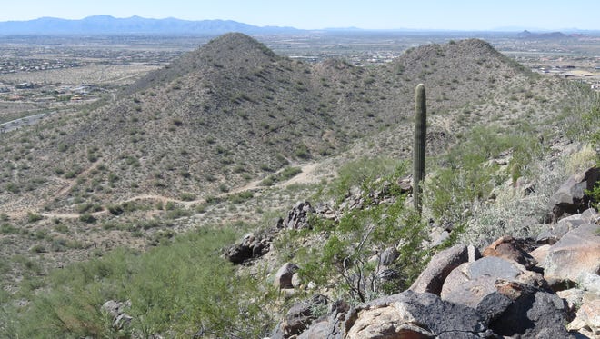 The Sunrise Mountain Preserve is located between 83rd and 91st avenues on Happy Valley Road in Peoria.