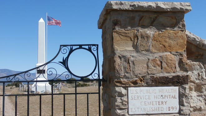 The original Fort Stanton Cemetery entry notes its history.