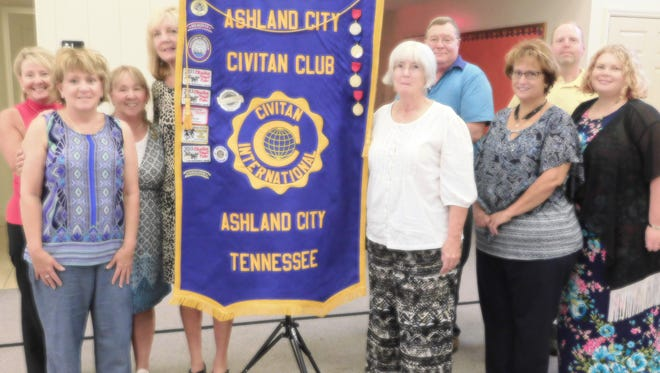 The Ashland City Civitan Club celebrated their 9th birthday at their meeting July 25.