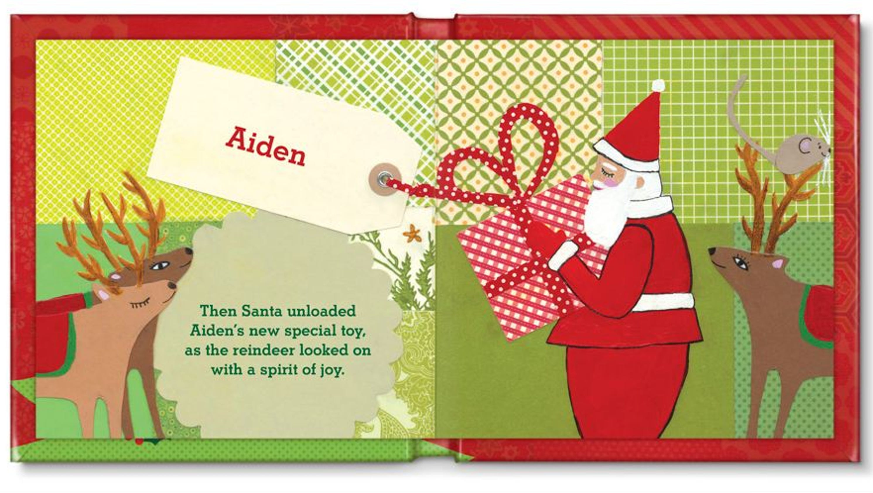 Holiday gifts: Personalized books for kids
