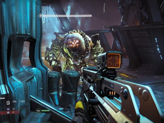 Destiny's Strike missions feature enemy hordes and bosses with lots of health.