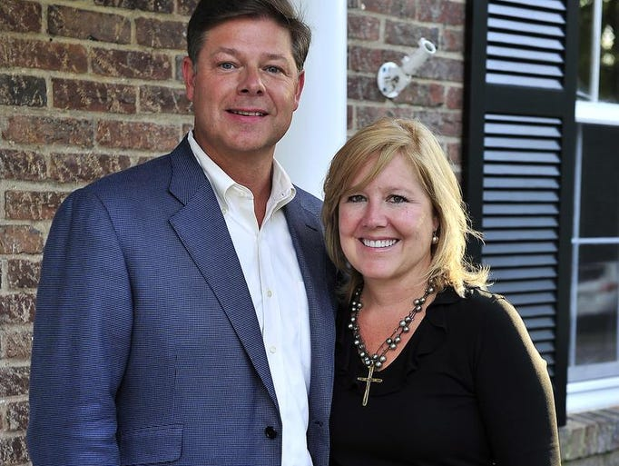 Bruce and Karen more hosted The Swan Ball 2013 Auction Committee Kick-off at their home.