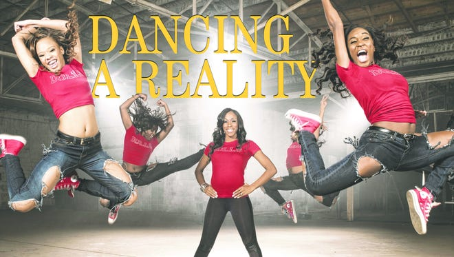 """Dianna Williams, also known as Miss D, center, and the Dancing Dolls star in season one of Lifetime's """"Bring It!"""""""