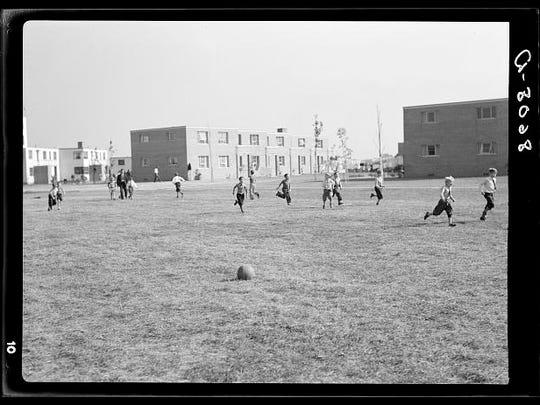 Greenhills, Ohio, October 1938.