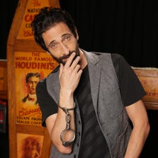 Adrien Brody, in the Houdini Museum of New York, stars in a new History Channel biopic miniseries 'Houdini.'