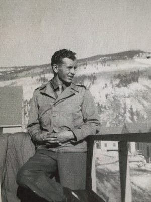 Hank Daub served in the 10th Mountain Division during World War II.