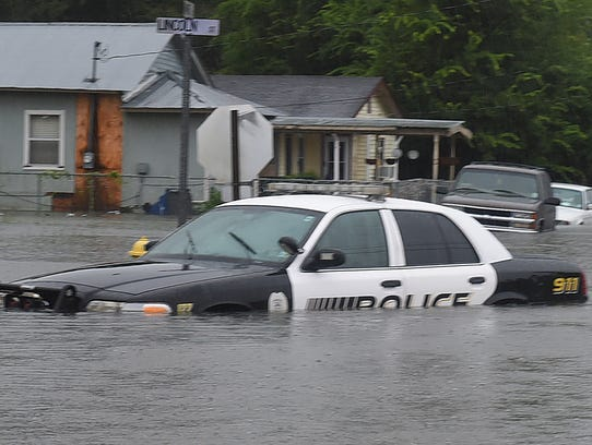 Flooding in Opelousas has caused multiple road closures