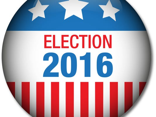 Election 2016 button USA Wahl 2016-Abzeichen
