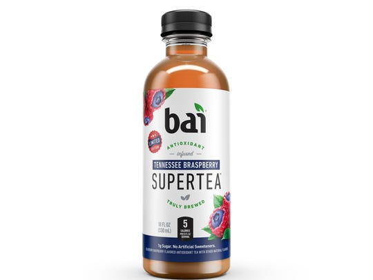 Bai is launching Tennesee Braspberry Supertea later