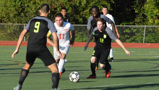 Kyle McHale (12) is the lohud boys soccer player of