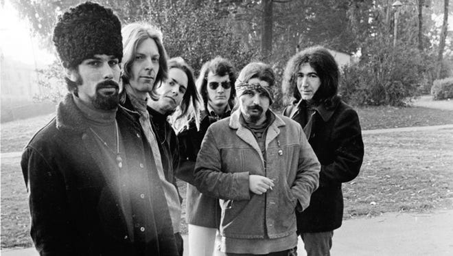 "Rhino/Warner Bros. Grateful Dead, 1967: Mickey Hart (from left), Phil Lesh, Bob Weir, Bill Kreutzmann, Ron ""Pigpen"" McKernan and Jerry Garcia, pictured in a 1967 publicity photo."