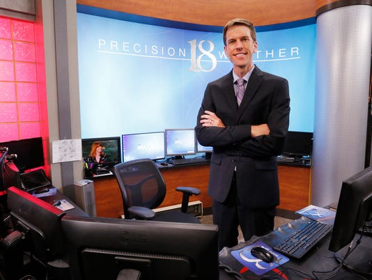 LAF Bangert: What brought meteorologist Chad Evans back to WLFI, back to Lafayette