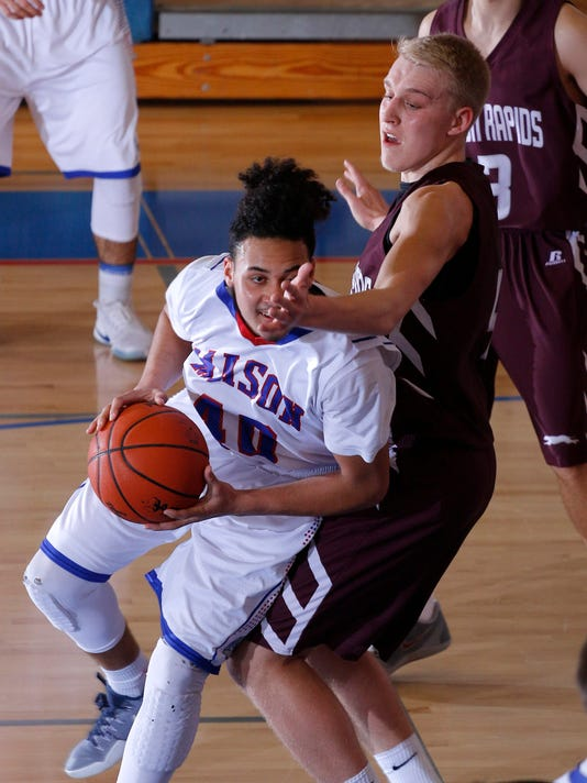 Eaton Rapids at Mason Basketball