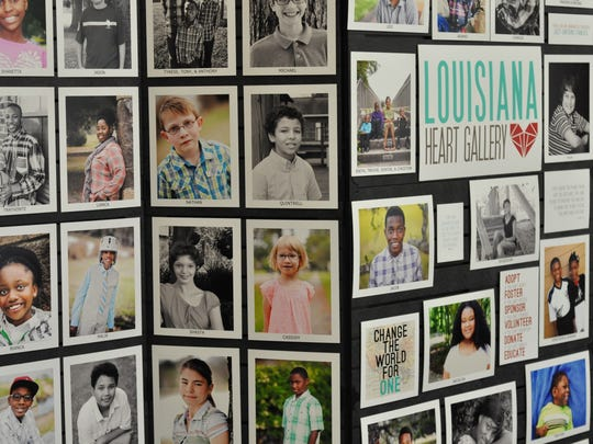 The Louisiana Heart Gallery showcases photos of kids in foster care awaiting adoption.